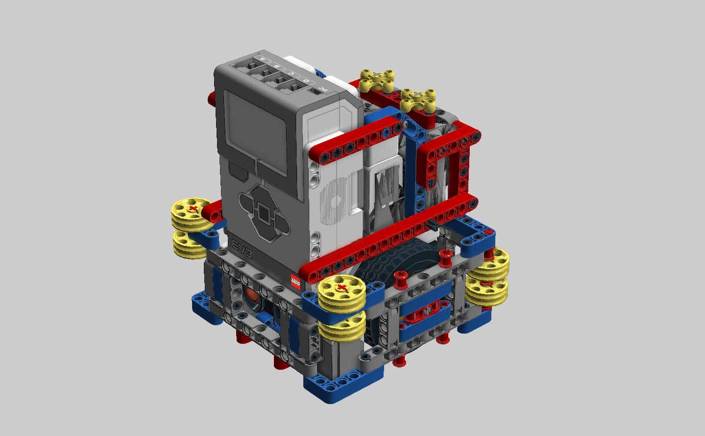 Medium Motor Robot | FLL Tutorials